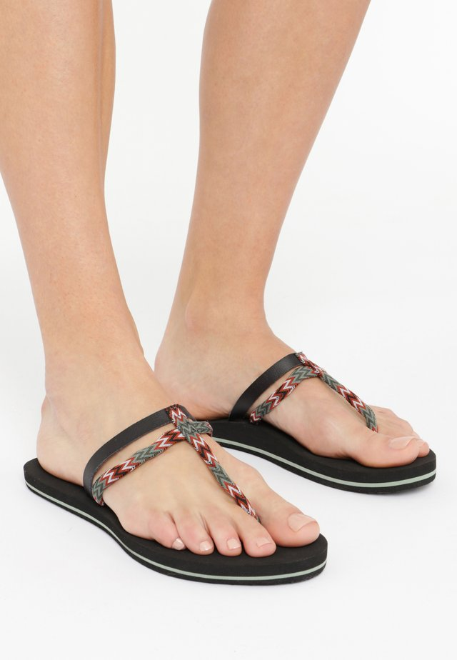 FW VENICE DITSY  - Tongs - black