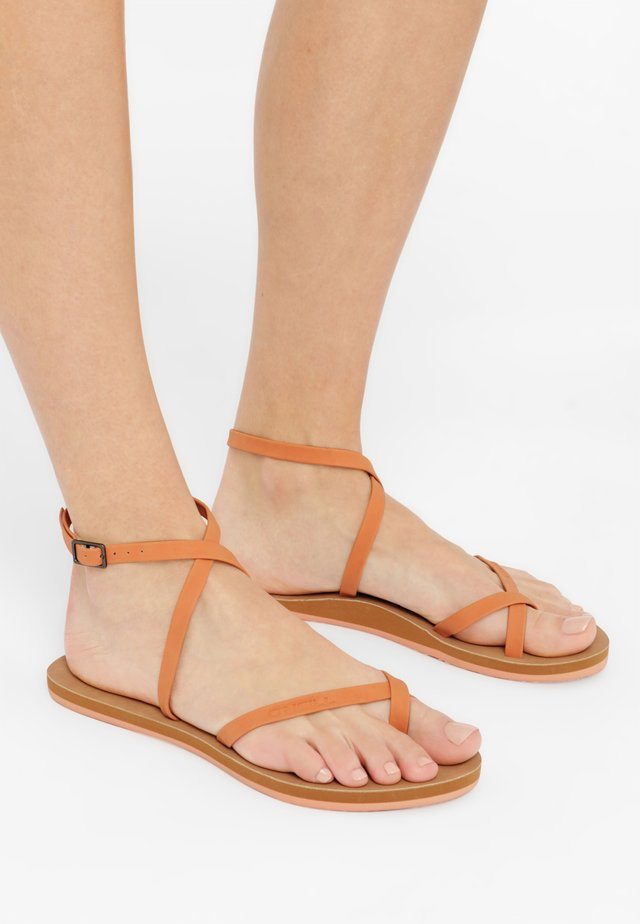BATIDA SUN - Tongs - apricot
