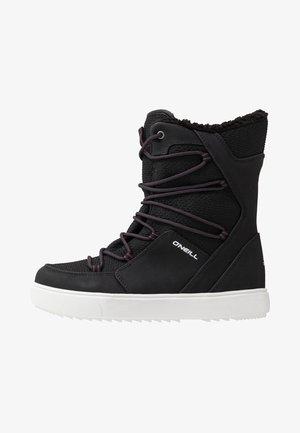 MOANNA - Vinterstøvler - black