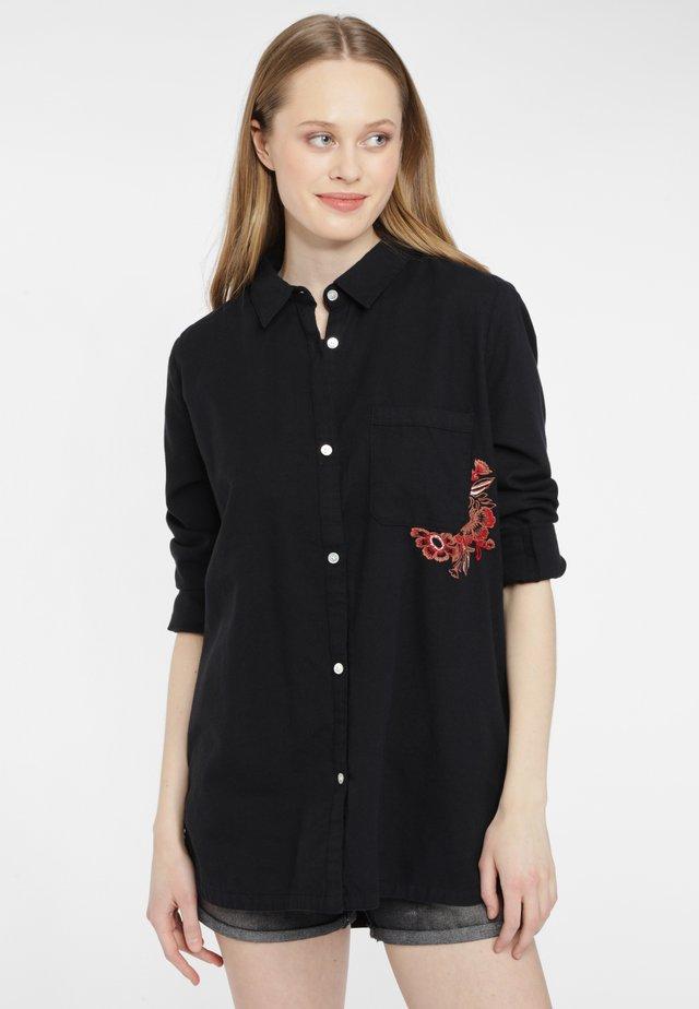 MORI - Overhemdblouse - black