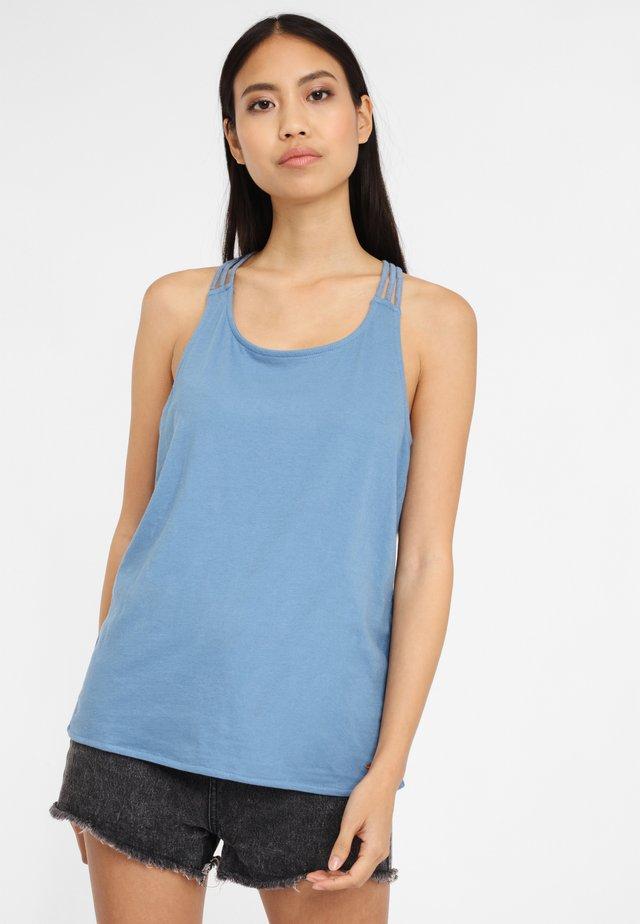 CLARA BEACH - Bikini-Top - blau