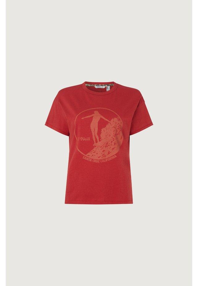 OLYMPIA - T-Shirt print - bossa nova red