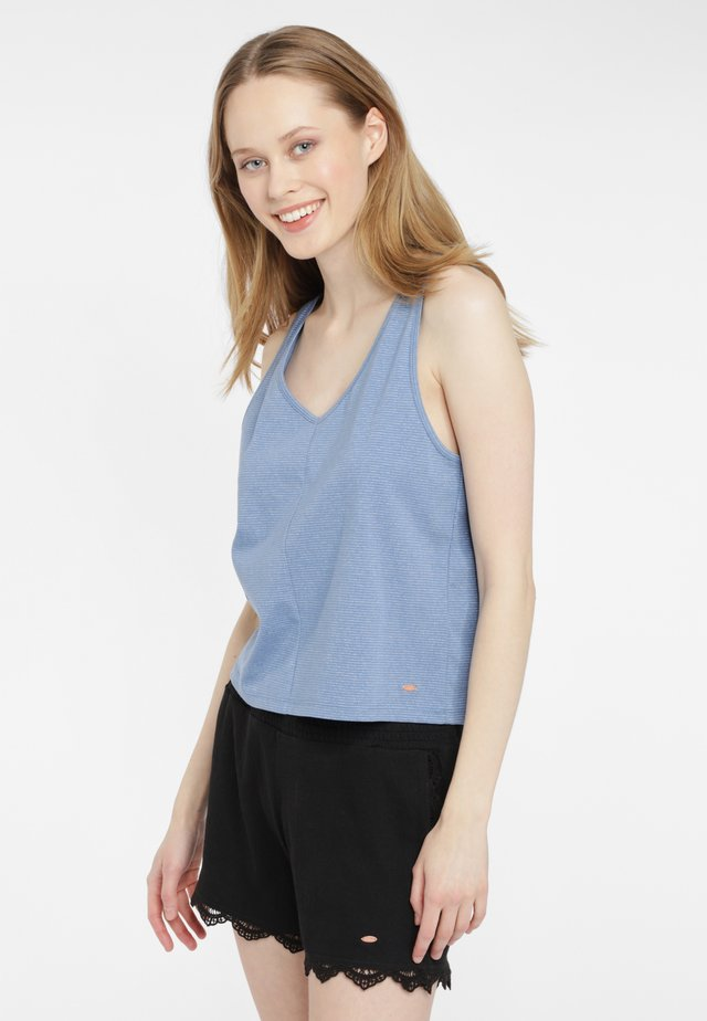 MIA BEACH - Top - blau