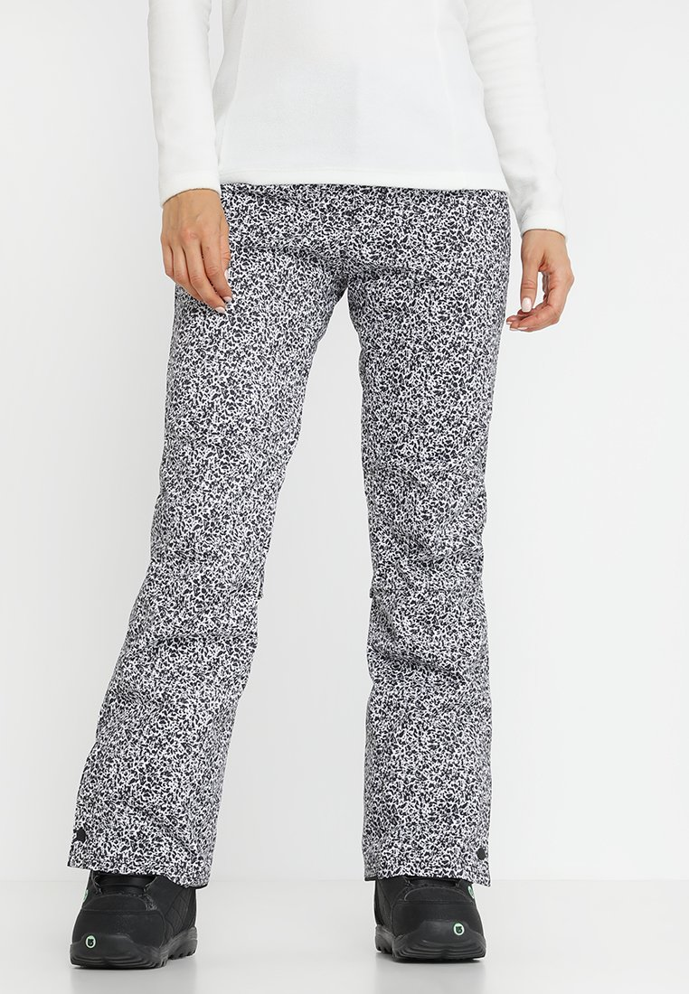 O'Neill - GLAMOUR PANTS - Schneehose - white/black