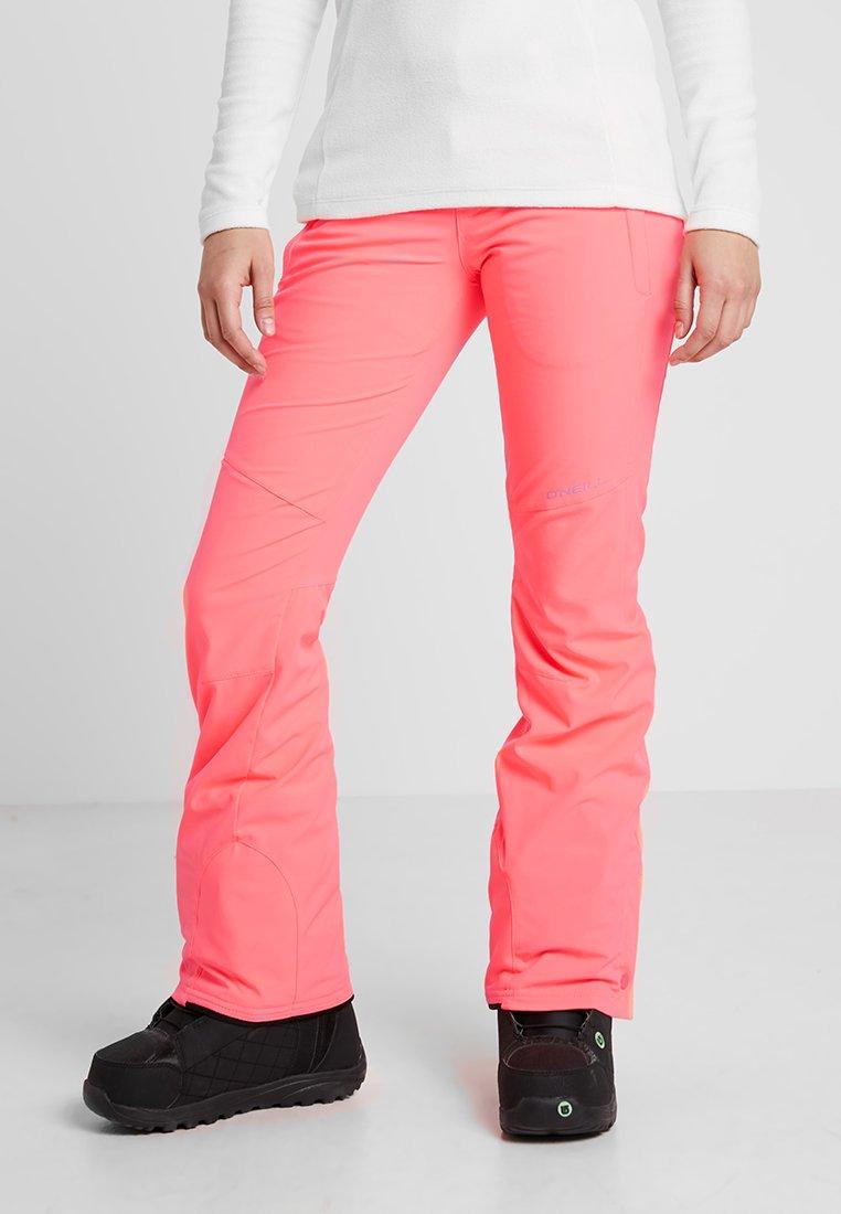 O'Neill - STAR PANTS - Täckbyxor - neon tangerine pink