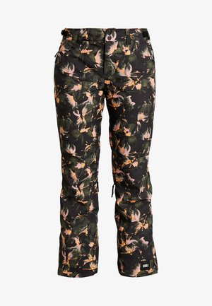 GLAMOUR PANTS - Skibroek - black/yellow