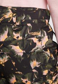 O'Neill - GLAMOUR PANTS - Skibroek - black/yellow - 6