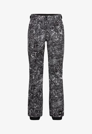 GLAMOUR PANTS - Skibroek - black/white