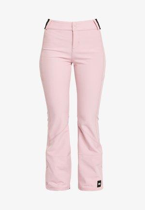 BLESSED PANTS - Pantalon de ski - mottled light pink