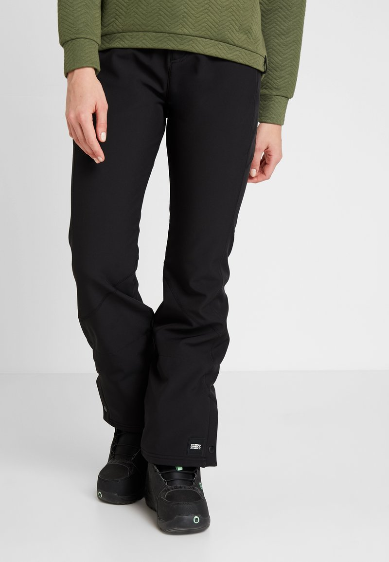 O'Neill - BLESSED PANTS - Pantaloni da neve - black out