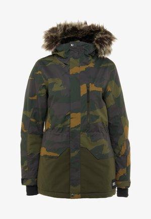 ZEOLITE JACKET - Snowboard jacket - green