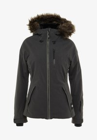 O'Neill - VAUXITE JACKET - Snowboardjacka - dark grey melee - 8