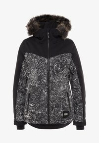 O'Neill - VALLERITE JACKET - Snowboard jacket - black out - 7