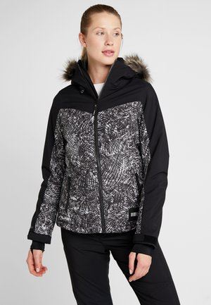 VALLERITE JACKET - Snowboard jacket - black out