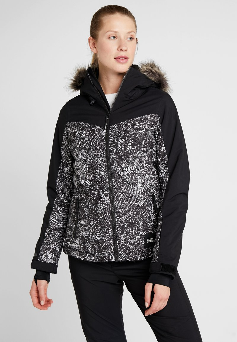 O'Neill - VALLERITE JACKET - Snowboard jacket - black out