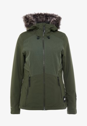 HALITE JACKET - Snowboardjas - forest night