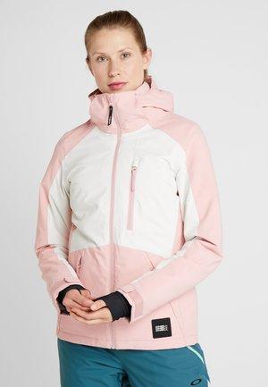 APLITE JACKET - Snowboardová bunda - bridal rose