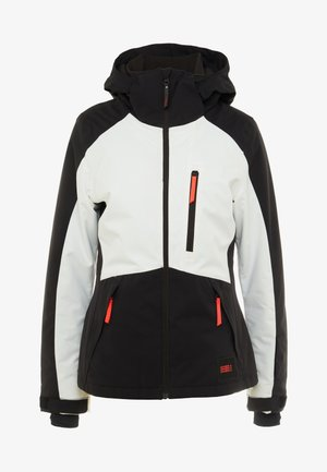 APLITE JACKET - Snowboardjas - black out