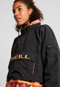 O'Neill - FROZEN WAVE ANORAK - Veste de snowboard - black out - 4