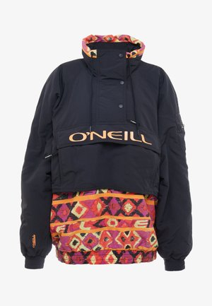 FROZEN WAVE ANORAK - Snowboard jacket - black out