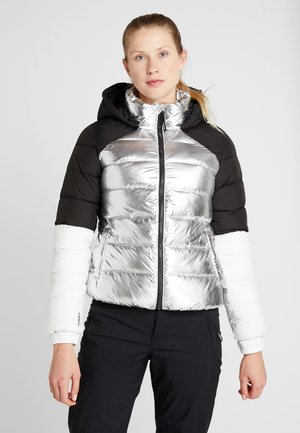 MANEUVER INSULATOR JACKET - Laskettelutakki - gun metal