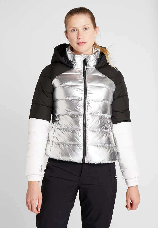 MANEUVER INSULATOR JACKET - Snowboardová bunda - gun metal