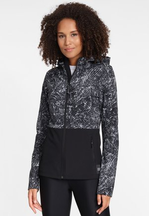 BREAKUP - Softshelljacke - black/white