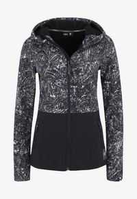 O'Neill - BREAKUP - Softshelljacke - black/white
