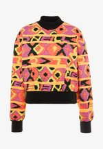 FROZEN WAVE CREW - Sweatshirt - red/black