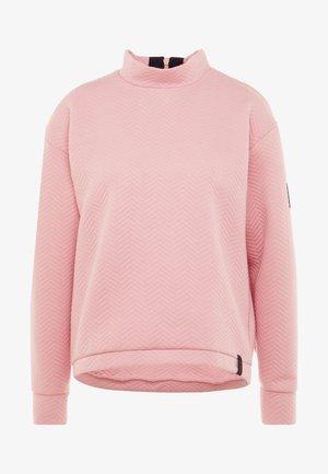 ARALIA QUILTED CREW - Sweatshirt - bridal rose
