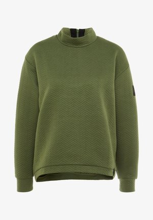 ARALIA QUILTED CREW - Sweater - winter moss