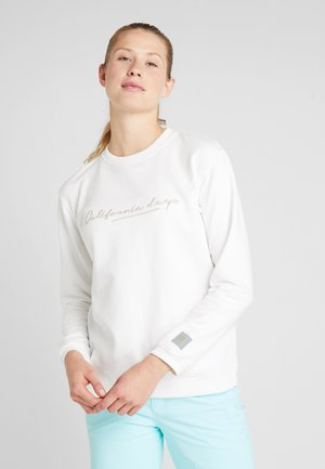 RUBY CALI CREW - Sweatshirt - powder white