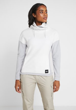Fleece trui - powder white