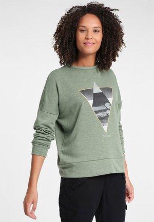Sweatshirt - light green