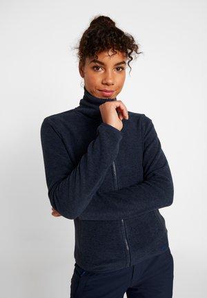 VENTILATOR - Fleece jacket - ink blue
