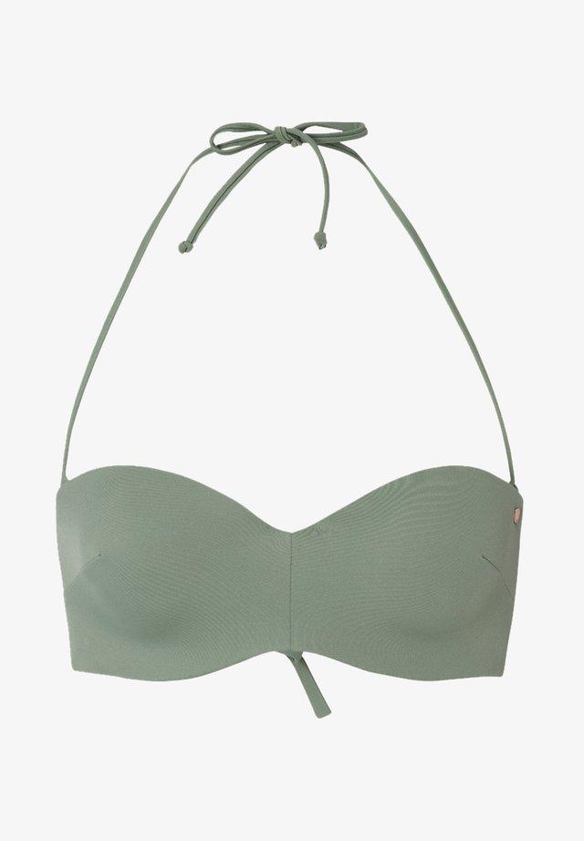 HAVAA  - Bikini-Top - grren blue