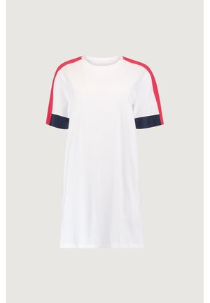 Jersey dress - super white