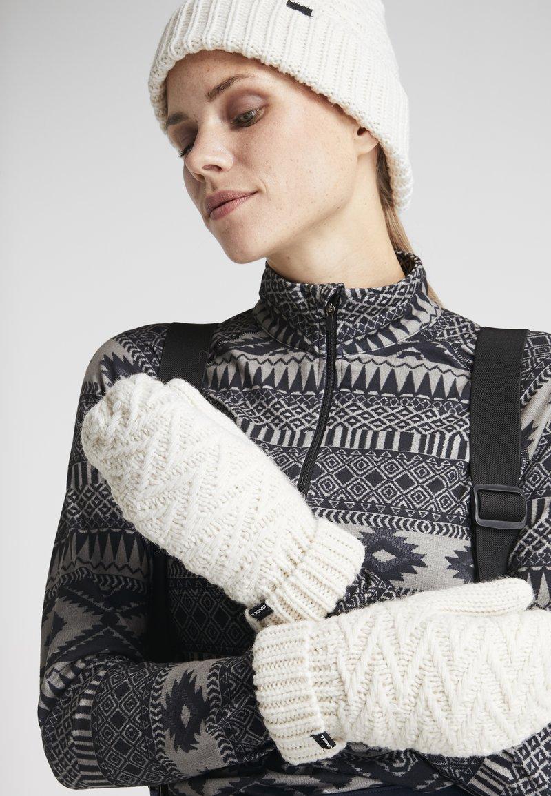 O'Neill - NORA MITTENS - Tumvantar - powder white