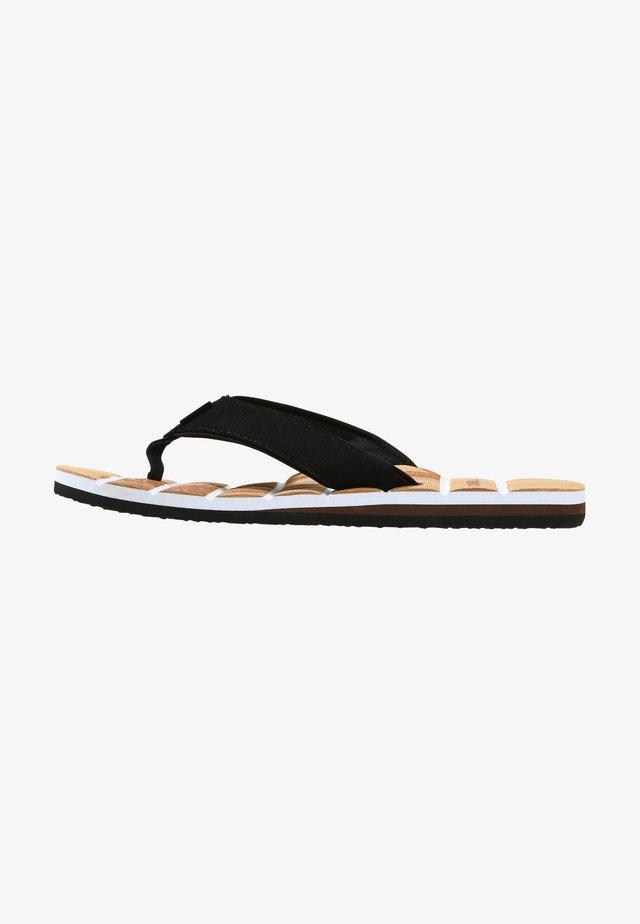 T-bar sandals - beige