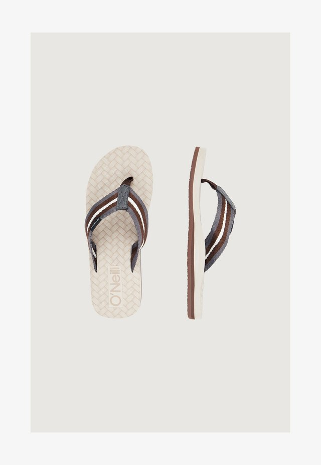Tongs - beige