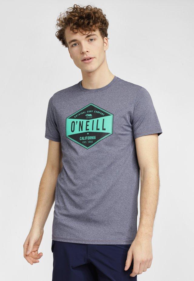 T-shirt imprimé - blue gray