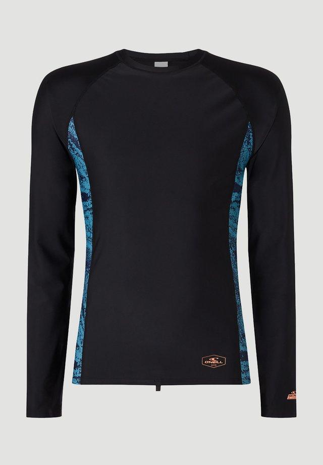 T-shirt de surf - dunkelblau