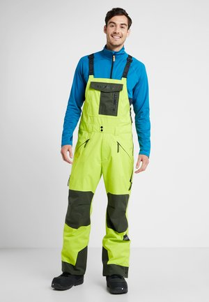 ORIGINAL BIB PANTS - Skibukser - lime punch