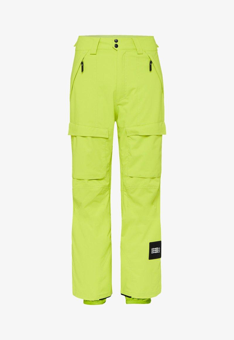O'Neill - CARGO PANTS - Pantalon de ski - lime punch