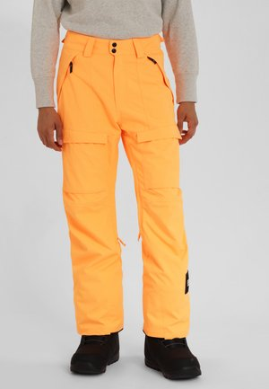 CARGO PANTS - Skibroek - orange