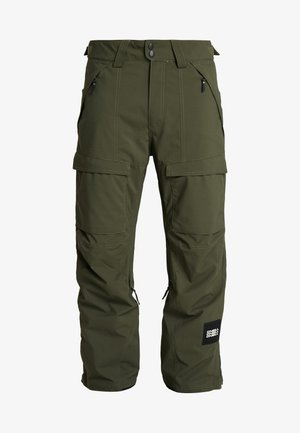 CARGO PANTS - Täckbyxor - forest night