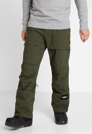 CARGO PANTS - Pantalon de ski - forest night