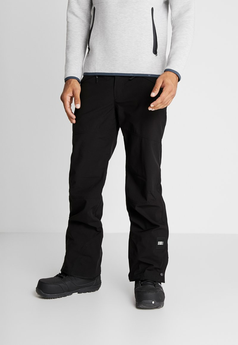 O'Neill - HAMMER SLIM PANTS - Pantalon de ski - black out