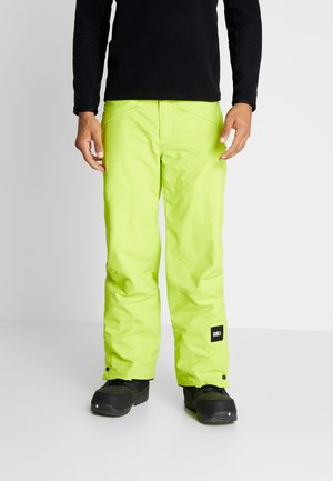 HAMMER PANTS - Pantalon de ski - lime punch