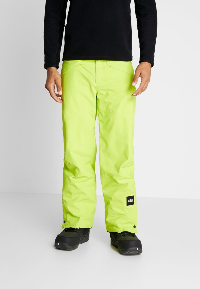 O'Neill - HAMMER PANTS - Talvihousut - lime punch